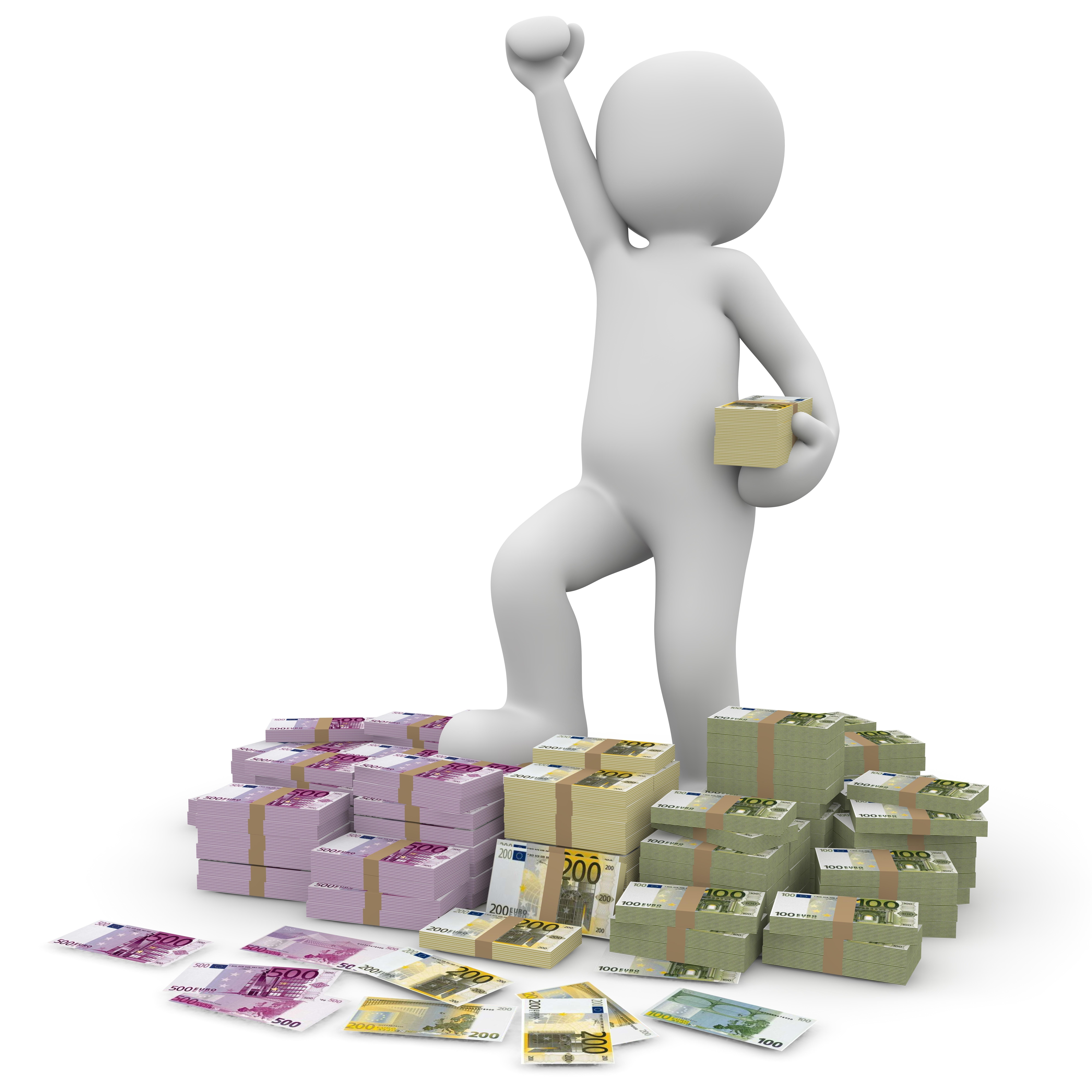 Geld-Erfolg-Winner